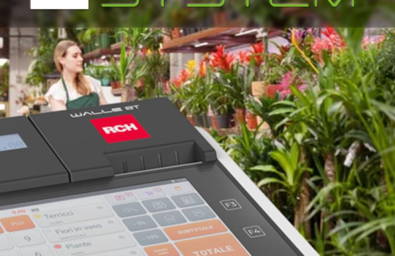 Sistemi smart per i negozi di fiori e piante