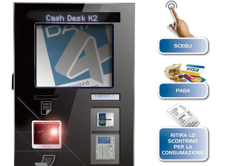 Cash Desk K2 Slim